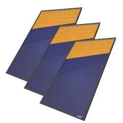 Capteur solaire vue intérieure
