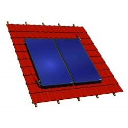 Capteurs verticaux sur toiture