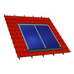 Capteurs intégrés en toiture