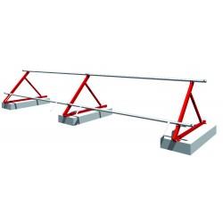 Châssis triangulaire pour montage horizontal