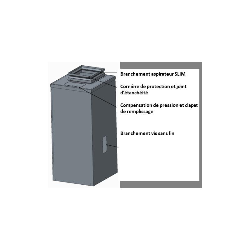 Réservoir aspirateur SLIM 502